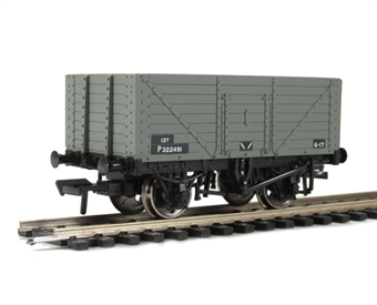 37-158B 8 plank end door wagon in BR grey £10