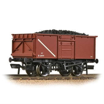37-256A BR 16T Steel Mineral Wagon BR Bauxite (Early) [WL]