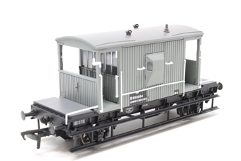 37-528-PO05 20 ton brake van unfitted in BR grey livery - Pre-owned - Like new