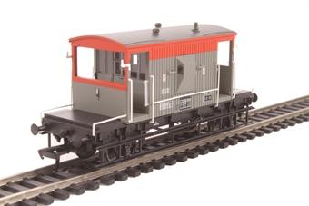 37-535C 20T Brake Van B955016 in BR Railfreight livery