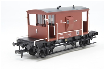 37-536A-PO 20 ton brake van B952963 in BR bauxite with flush sides - Pre-owned - Like new