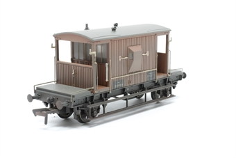 37-537C-PO04 20 Ton Brake Van in BR Bauxite (Late) weathered. - Pre-owned - Like new, imperfect box