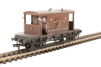 37-537D 20 Ton Brake Van BR Bauxite (Late) - Weathered £15