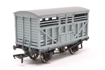 37-701A-PO04 12 Ton Cattle Wagon 230909 in LMS Grey Livery - Pre-owned -  imperfect box