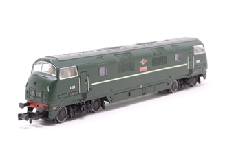 370-070loco-PO03 Class 42 D829 'Magpie' in BR Green (DCC Fitted) - split from 370-070 Set - Pre-owned - replacement box £87