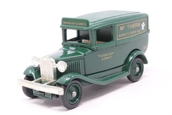 37001Lledo-PO 1932 Model 'A' Ford Panel Van 'Mr Therm' - Pre-owned - imperfect box