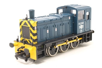 37036-PO10 Class 03 03382 in BR Blue - Pre-owned - sold as seen, Non runner, imperfect box