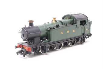 37038-PO15 Class 66xx 0-6-2T 6697 in GWR Green - Pre-owned - wobbly runner - imperfect box
