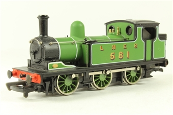37054 Class J72 0-6-0T 581 LNER Green