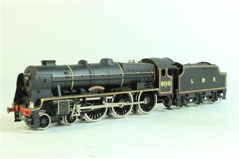 """37056 Rebuilt Scot Class 4-6-0 """"Scots Guardsman"""" 6115 in LMS Black"""