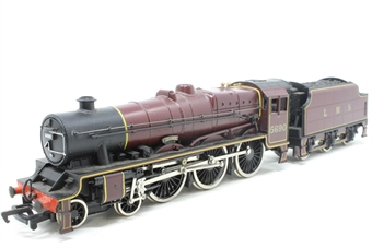 37061-PO21 Class 6P Jubilee 4-6-0 'Leander' 5690 in LMS Crimson - Pre-owned - Like new, imperfect box