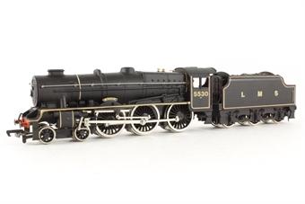 37065 Class 7P Rebuilt Patriot 4-6-0 'Sir Frank Ree' 5530 in LMS Black
