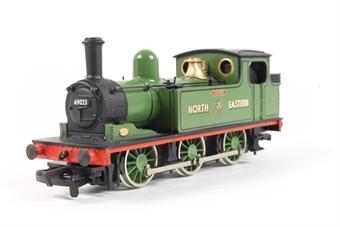 37067 Class J72 0-6-0T 'Joem' 69023 in NE Green