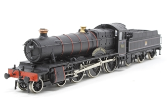 37079Main-PO16 Manor Class 4-6-0 'Erlestoke Manor' 7812 in BR Black - Pre-owned - minor mark on boiler, imperfect box
