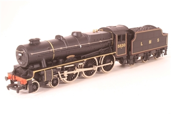 37082 Rebuilt Patriot Class 4-6-0 'Sir Frank Ree' 45530 in BR Black (steam sound)