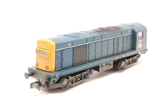 371-028-PO04 Class 20 D8307 in BR Blue with Headcode Box (weathered) - Pre-owned - Noisy runner
