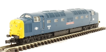 371-287 Class 55 Deltic 55005 'The Prince of Wales' Own Regiment of Yorkshire' in BR Blue