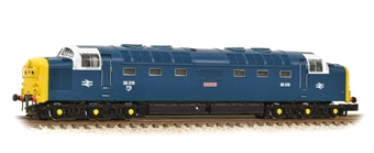 """371-288 Class 55 'Deltic' 55015 """"Tulyar"""" in BR blue with white cab surrounds"""