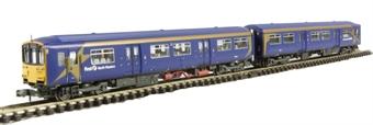 """371-325 Class 150/1 2 car DMU """"First North Western"""" £57"""