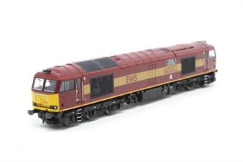 371-350-PO07 Class 60 60052 'Glofa TWR' in EWS Livery - Pre-owned - Like new - label mark on outer sleeve