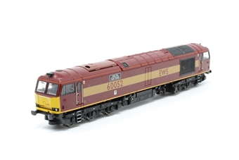 371-350-PO08 Class 60 60052 'Glofa TWR' in EWS Livery - Pre-owned - Noisy runner, imperfect box