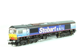 371-391-LN Class 66/4 diesel 66411 'Eddie the Engine' DRS/Stobart rail - Pre-owned - Like new £78