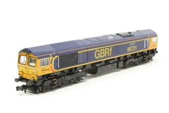 371-396-PO04 Class 66/9 66731 'InterhubGB' in GBRf Livery - Pre-owned - Like new