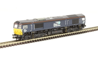 371-397 Class 66 66434 in DRS Plain Blue with Compass Logos
