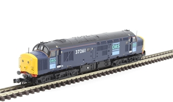 371-471 Class 37/0 37261 in Direct Rail Services blue