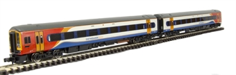 371-557 Class 158 2 car DMU 158783 in East Midlands Trains livery £74
