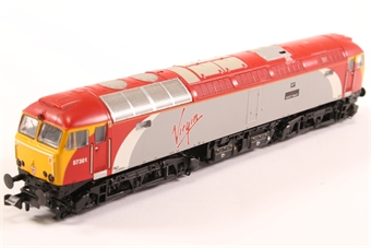371-650-HX02 Class 57/3 57301 'Scott Tracy' in Virgin Trains Livery - Pre-owned - DCC fitted £115