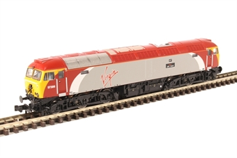 "371-650A Class 57/3 57306 ""Jeff Tracy"" in Virgin Trains livery £106.21"