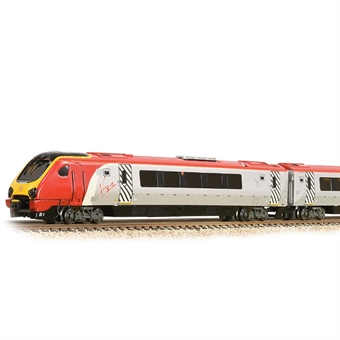 371-680 Class 220 'Voyager' 4-Car DEMU 220018 'Dorset Voyager' in Virgin Trains livery - (Price is estimated - we will notify you if price rises and offer option to cancel)