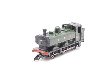 371-931-PO03 Class 8750 0-6-0 Pannier Tank 4612 in GWR green - Pre-owned - derails on curves- replacement box