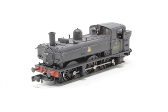 371-986-PO01 Class 64xx 0-6-0 Pannier Tank 6417 in BR Black with early emblem - Pre-owned - detailed - crew added - imperfect box