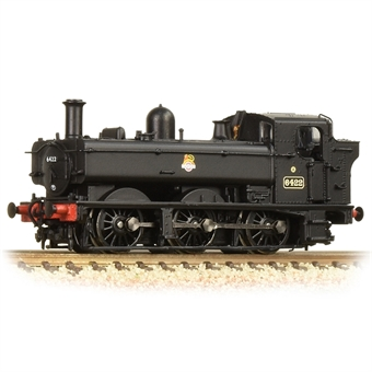 371-986A Class 64xx Pannier 0-6-0PT 6422 in BR black with early emblem