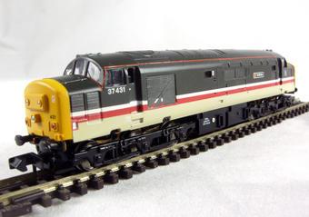 371-160 Class 37/4 37431 'Bullidae' in Intercity Mainline Livery