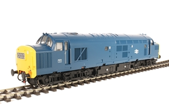 3712 Class 37/0 in BR blue with centre headcode box (unnumbered)