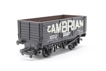 37169-PO23 7 plank open wagon 'Cambrian' black - Pre-owned - Like new - Imperfect box £6