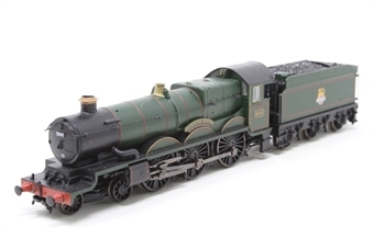 372-031-PO06 Class 4073 Castle 4-6-0 5041 'Tiverton Castle' in BR green with early emblem - Pre-owned - detailed - crew added