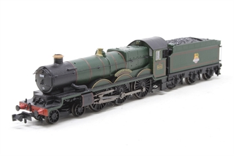 372-031-PO08 Class 4073 Castle 4-6-0 5041 'Tiverton Castle' in BR green with early emblem - Open box - DCC Fitted