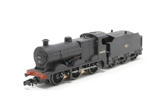 372-053-PO02 Class 4F 44422 Fowler 0-6-0 & tender in BR black with late crest - Pre-owned - worn paintwork on chimney - missing outer card sleeve
