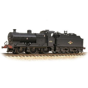 372-065 Class 4F 0-6-0 43931 in BR black with late crest - weathered