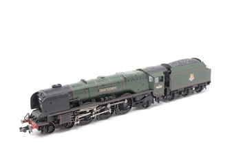 """372-181A-PO Princess Coronation Class 4-6-2 46221 """"Queen Elizabeth"""" in BR green with early emblem - Pre-owned - DCC fitted"""