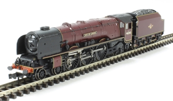 "372-184 Class 8P Duchess 4-6-2 46245 ""City of London"" BR crimson with late crest"