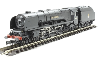 """372-185 Princess Coronation Class 4-6-2 46236 """"City of Bradford"""" in BR black with early emblem"""