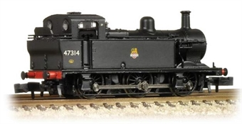 372-211A Class 3F Jinty 0-6-0T 47314 in BR black with early emblem