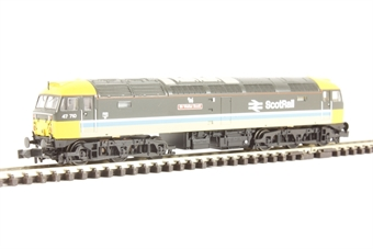 372-245 Class 47/7 47710 'Sir Walter Scott' in BR ScotRail Livery