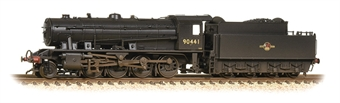 372-425A Class WD Austerity 2-8-0 90441 in BR black with late crest - weathered
