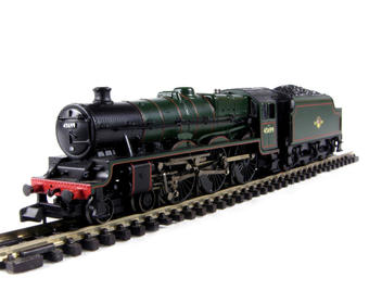 """372-475 Class 6P Jubilee 4-6-0 45699 """"Galatea"""" & 4000 gallon tender in BR green with late crest"""